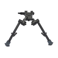 "S7 Bipod 7""-9"" inches with Rubber Feet"