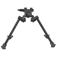 "S7 Bipod 9""-12"" inches with Rubber Feet"
