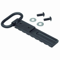 The S7 M1A & M14 picatinny rail. Replaces existing standard-issue front sling swivel on M1A or M14 wood type stock.