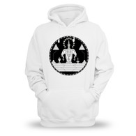 Royal Flag of Laos - White, Hoodie