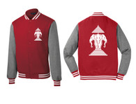 Xang Saam Hua Letterman Fleece - Red