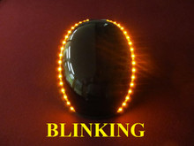 Original Blinking Lid Lights - Orange - 18 LED's per Strip