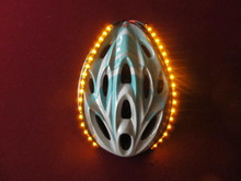 Original Lid Lights - Non Blinking - Yellow - 18 LED's per Strip