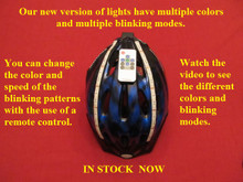 New RGB Lid Lights - multiple colors - multiple blinking modes - Available Now