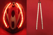 Red Lid Lights on white strip - 36 LED's per Strip