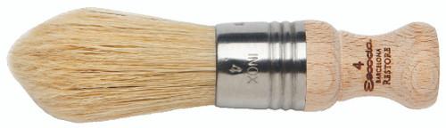 Restore #4 Stubby Handle Brush