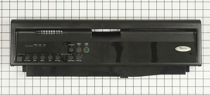 Whirlpool Dishwasher Touchpad Control Panel Wp8535166