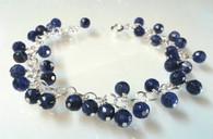 Sodalite Cluster Bracelet