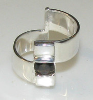 """Modern"" Smokey Quartz Ring"