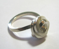 """Knot"" Silver Ring"