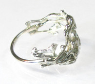 """Alien Nature - Venus"" Silver Ring"