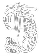 Labyrinthia Printable Colouring & Meditation Page 10