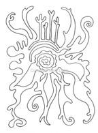 Labyrinthia Printable Colouring & Meditation Page 12