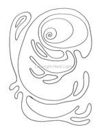 Labyrinthia Printable Colouring & Meditation Page 17