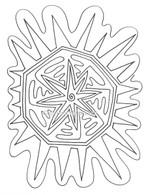 Labyrinthia Printable Colouring & Meditation Page 20