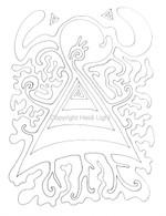 Labyrinthia Printable Colouring & Meditation Page 22