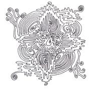 Labyrinthia Printable Colouring & Meditation Page 26