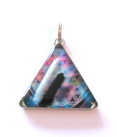 Orgonite Pendant - Blue Aura