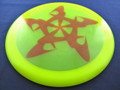 Discmania C-Line TD Rush - Yellow 175g red swoosh star design