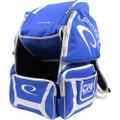 Latitude 64 DG Luxury E2 Backpack Disc Golf Bag - Blue