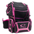 Latitude 64 DG Luxury E3 Backpack Disc Golf Bag - Black/Pink