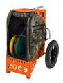 Zuca Disc Golf Cart - Realtree Xtra Camo / Orange