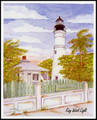 Key West Lighthouse Signed & Numbered Limited Edition