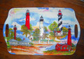 Florida Lights Large Serving Tray