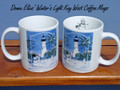 Winter's Light - Key West - Set of 2 Coffee Mugs