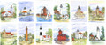 Michigan Lighthouses - 12 Piece Collectors Set