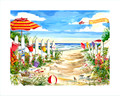 "Clam Bake at the Cove - 8"" x 10"" Custom Name Dropped Print"