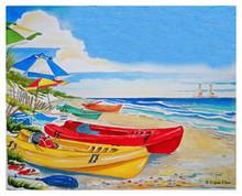 Kayak Beach © Donna Elias
