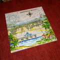 Deerfield Beach Sea Chart Tile by Donna Elias