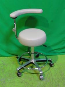 Pneumatic Procedure Stool With Adjustable Armrest Backrest