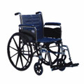 INVACARE TRACER 2 WHEELCHAIR WITH STANDARD FOOTRESTS
