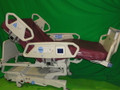 HILL-ROM P1900 TOTAL CARE ELECTRIC HOSPITAL BED WITH AIR MATTRESS SYSTEM AND SCALE.