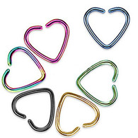RSFX-08 Single Closure Heart Ring Cartilage