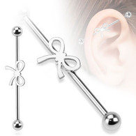 BIA06 Steel Ribbon Industrial Barbell