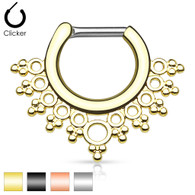 SEP-33 Lacey Edge Design IP Septum Clicker