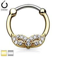 SEP2-64 Masquerade Mask Round Septum Clicker