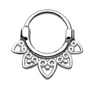 SEPS-01 Tribal Fan All Round Septum Clicker