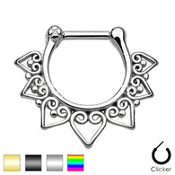 SEPS-04 Tribal Fan Septum Clicker