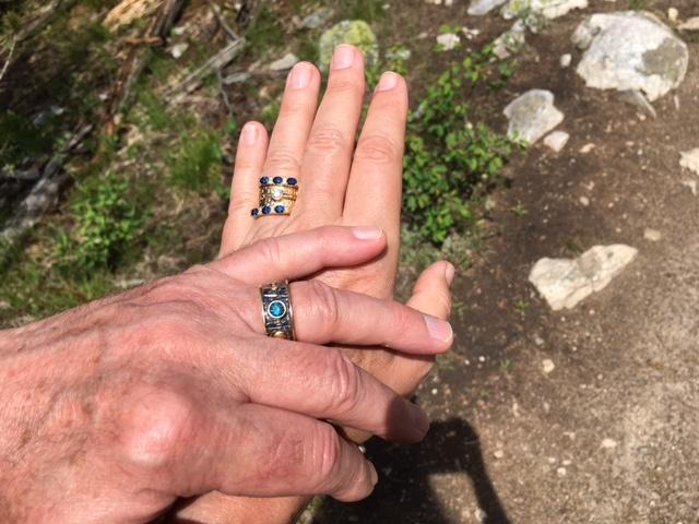 John & Nan's Rings