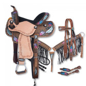 12/20 Lucky Draws Delilah Collection 5 Piece Saddle Package