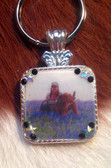 Photo Concho Key Ring