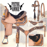 Pistol Annie Barrel Racing Saddle Package