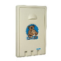VERTICAL BABY CHANGING STATION CREAM