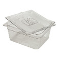 X-TRA FOOD PAN 6 IN DEEP 1/2 SZ CLE 6/CTN