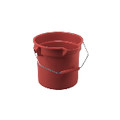 BRUTE RND BKT 14 GL WIDE POUR SPOUT RED6/CTN