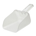 BOUNCER CONTOUR SCOOP 32 OZ POLYCARB CLE 6/CTN